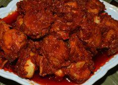 Goan Prawn Molho / Goan Prawn Pickle