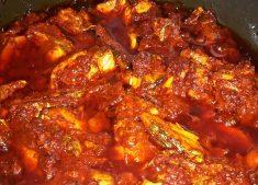 Goan Viswon Molho / Goan Kingfish Pickle